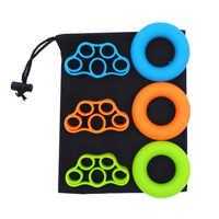 Widerstand Bands Hand Grip Set Handgelenk-stärkungsmittel-ball Exerciser Kit mit Trage Tasche (Kein Logo) Finger Bahre Speed Up Rehabilitation