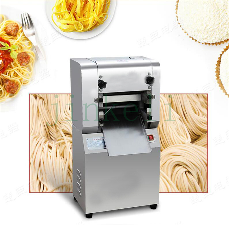 free air ship 2mm ,5cm, Electric noodles making pressing machine pasta maker noodle cutting machine dough roller commercial use 35 40kg h commercial pasta machine electric pasta noodle maker machine household noodles machine with best quality