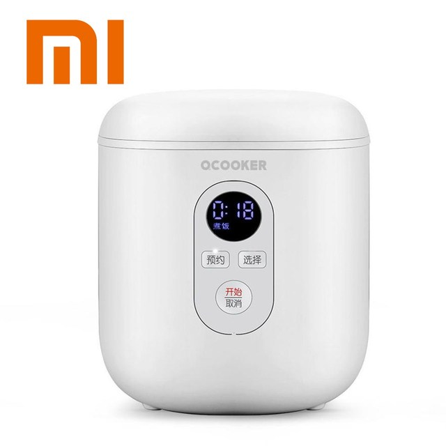 Xiaomi Youpin Mini Electric Rice Cooker 1.2L Kitchen Cooker Small Rice Cook Machine Intelligent Appointment LED Display
