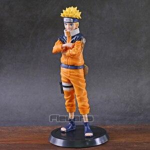 Image 2 - Naruto Shippuden Grandista Uzumaki Naruto Uchiha Sasuke Hatake Kakashi PVC Figure Collectible Figurine Model Toy