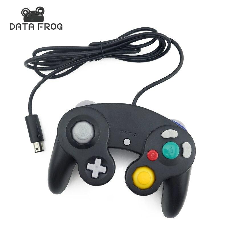 2016 klassische Verdrahtete Controller Joypad Joystick Gamepad Für Nintendo Für Gamecube Controller Für Wii Vibration Stereo-gameing