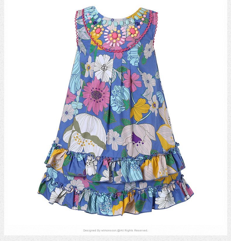 High Quality Girl Dresses Princess Children Clothing  Costume Kid's Party Dress Baby Girls Clothes 2 high quality girls baby hollow out bud silk condole belt dress princess party dresses children s clothing wholesale