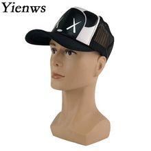 da036800 Yienws Kawaii Bear Net Hats Women Baseball Cap Summer Mesh Trucker Hat  Gravity Falls Bone Chapeu