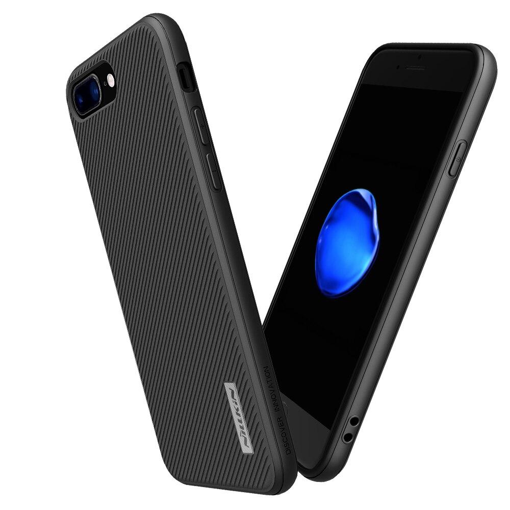 Цена за Для iphone 7 7 Плюс Случае крышка корпуса 4.7 и 5.5 NILLKIN этон груза Розничного пакета свободной PP назад shell для iphone7 случае hoesje
