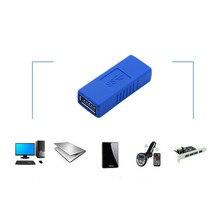 USB 3.0 женщина к женский адаптер может быть использован для соединения двух USB кабели с разъемами USB 3.0 Адаптер