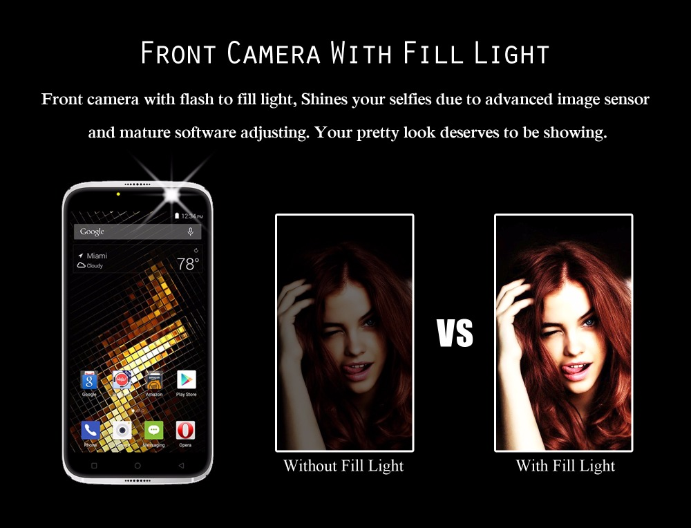 Front Camera With Fill Light