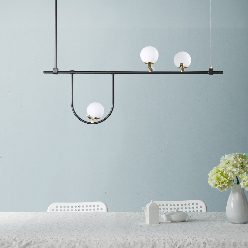 Modern style living room bedroom minimalist restaurant pendant light Nordic clothing decoration glass ball pendant lamp modern minimalist pendant light lamp nordic glass ball lamp home clothing ceiling decoration for living room bedroom dining room