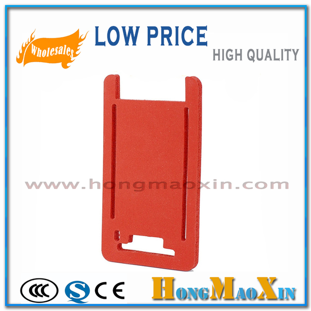 For iphone 7 plus 5.5 LCD glass frame oca Laminating machine silica gel pad level of soft silicone pad adhesive heat pads