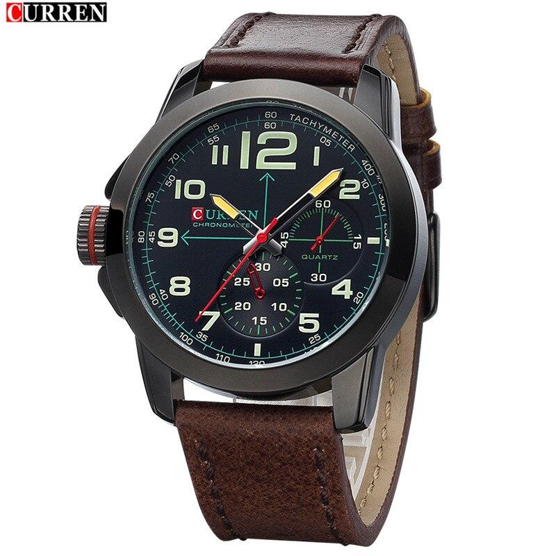 FASHION Men And Women Belt Quartz Waterproof Watch Military Business Fashion Leisure Sports Big Dial Watch For Man