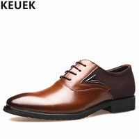 Plus Size 38 48 Luxury Vintage Men Business Dress Shoes Genuine Leather Office Casual Shoes Male