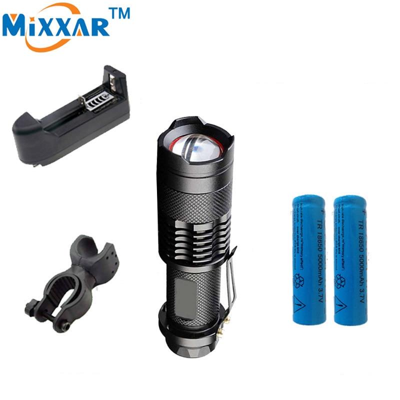 C Bicycle flashlight 7000LM L2 Adjustable Bike light 5-modes practical LED Torch Lamp lanterna bike Flashlight Cycling Light