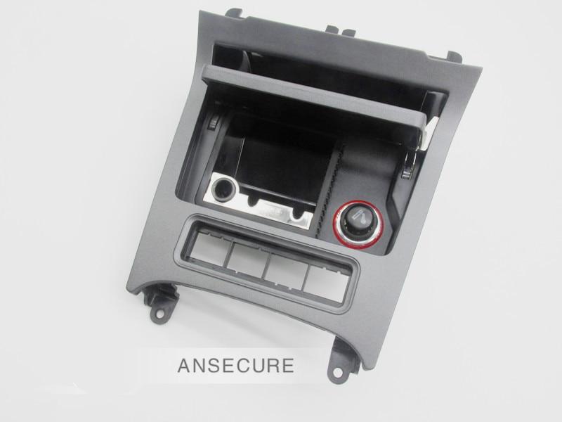 Cendrier avant noir 4 trous de bouton pour Volkswagen VW Golf 6 MK6 MK5 Jetta EOS 1K0 857 961 1K0857961