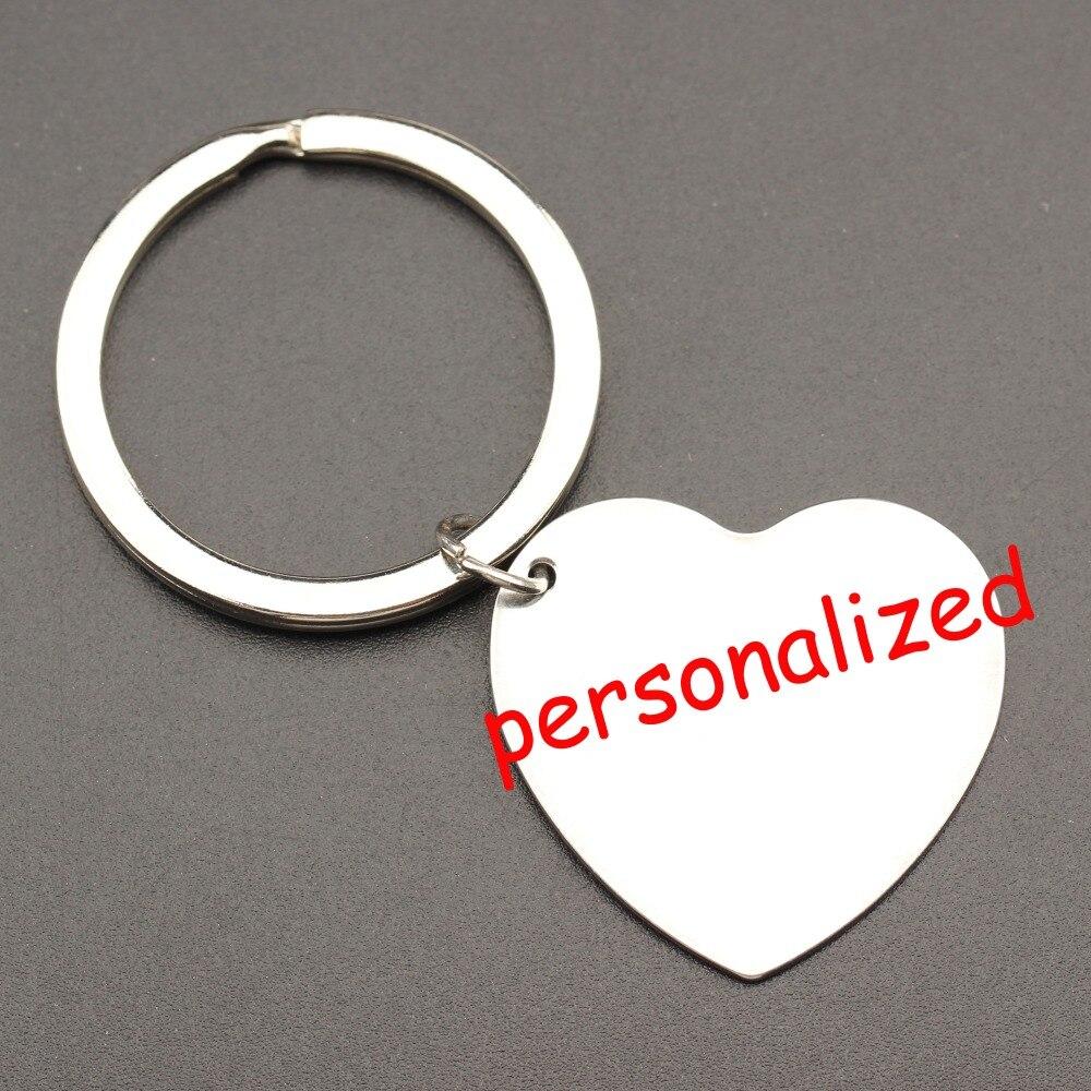 250 stücke personalisierte keychain Gravierte Schlüsselring tag Schlüssel halter kann personalisierte jede sprache