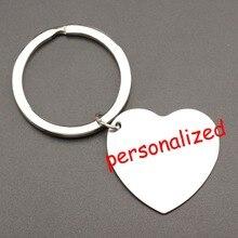 250 шт. персонализированные брелок выгравированы брелок для ключей держатель ключей можно персонализировать любым языком