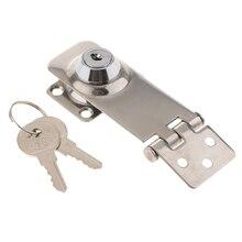 Cerradura de cerrojo de acero inoxidable, 1 uds., cerradura de seguridad, Hardware marino, piezas de barco para escotilla marina/cabina/puerta