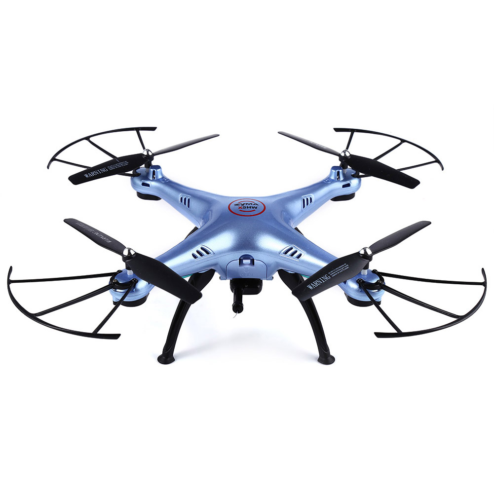 Syma X5HW 2.4G RC Drone Quoadcopter with HD Camera FPV 4CH Helicopter @ZJF rc helicopter q212 q212k q212g 5 8g fpv