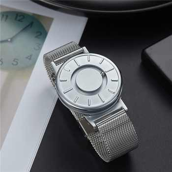 EUTOUR Rome digital dial watches Luxury Brand Mens fashion Casual Quartz Watch Simple Men canvas leather strap Wristwatches