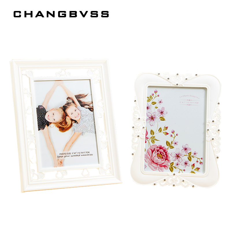 6-10 Inch Creative Cheap Family Love Baby Photo Frame Resin Picture Frames Modern Wood Vintage Photo Frames Home Decor Gift