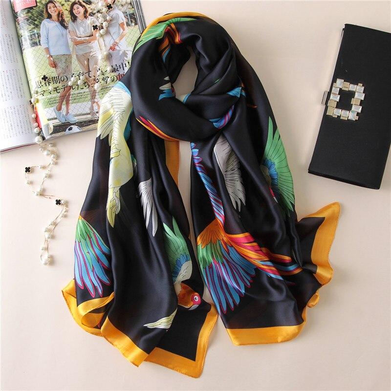 Women Silk Scarf Bris
