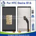 Para htc desire 816 816g 816 h 816 w novo display lcd original com tela de toque digitador assembléia peças de reposição + ferramentas