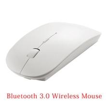 Ultra Mince Portable Optique Sans Fil Bluetooth 3.0 Souris Pour Prend En Charge Bluetooth PC compatible, ordinateur portable, MacBook, Android Tablet