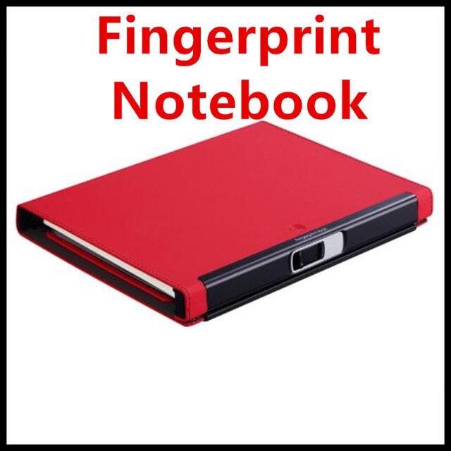 2018 Fingerprint Lock Notebook A5 Size 160Mah Battery 90 Days Long Time Standby Security Notebook with Fingerprint Input