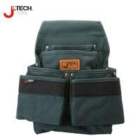 Jetech Professional Waist Belt Electrician S Tool Pouch Organizer Holder Bag 6 Pocket Medium Size BA