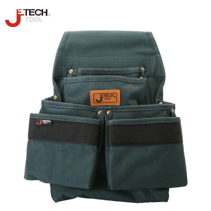 Jetech professzionális deréköv-villanyszerelő szerszámtasak-szervező tartó táska közepes méretű BA-M2 360 * 300mm