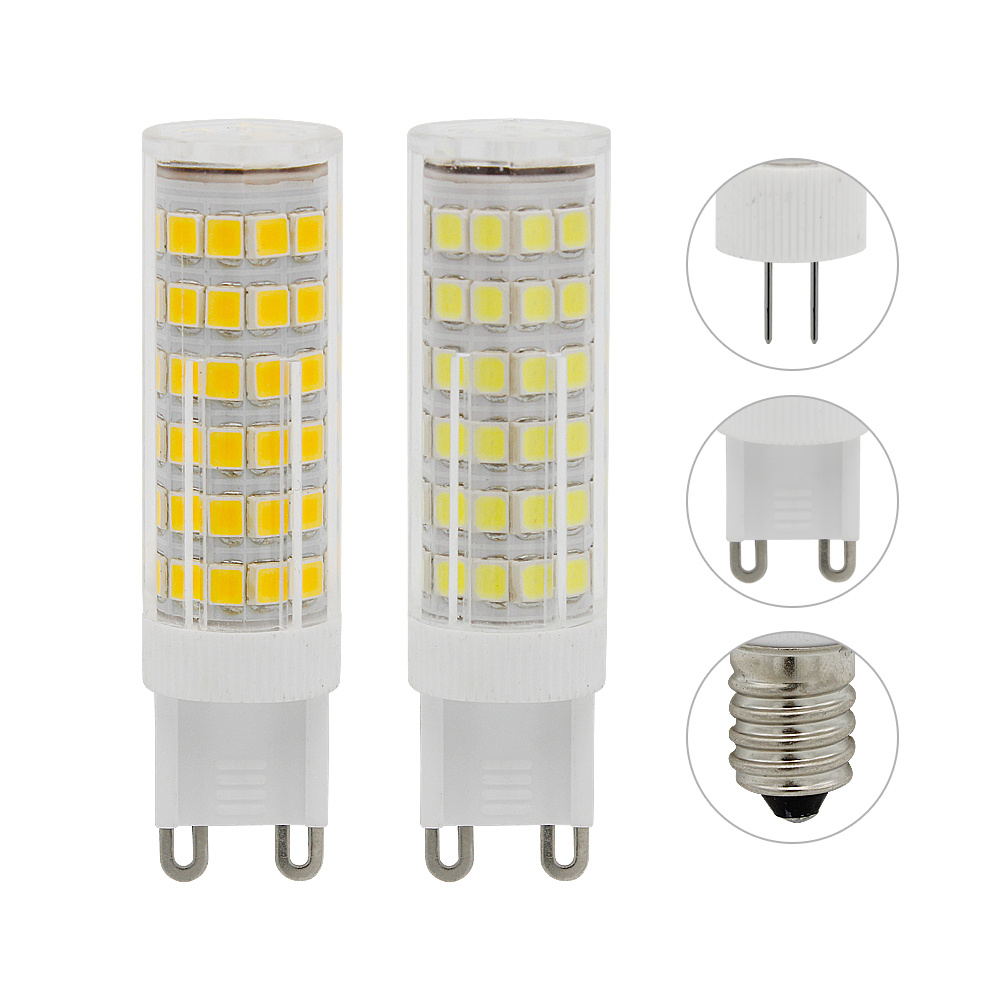 G4 G9 E14 LED Bulb SMD 2835 AC 220V 3W 5W 7W Lampada led corn bulb 360 degrees Replace 30w 40w 50w halogen lamp