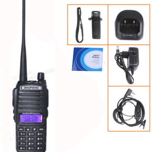 Image 5 - แบบพกพา 2 Way วิทยุ Walkie Talkie 10 km CB HAM วิทยุสมัครเล่นสำหรับ VHF UHF Dual Band UV 82 UV82 Baofeng UV 82 PLUS