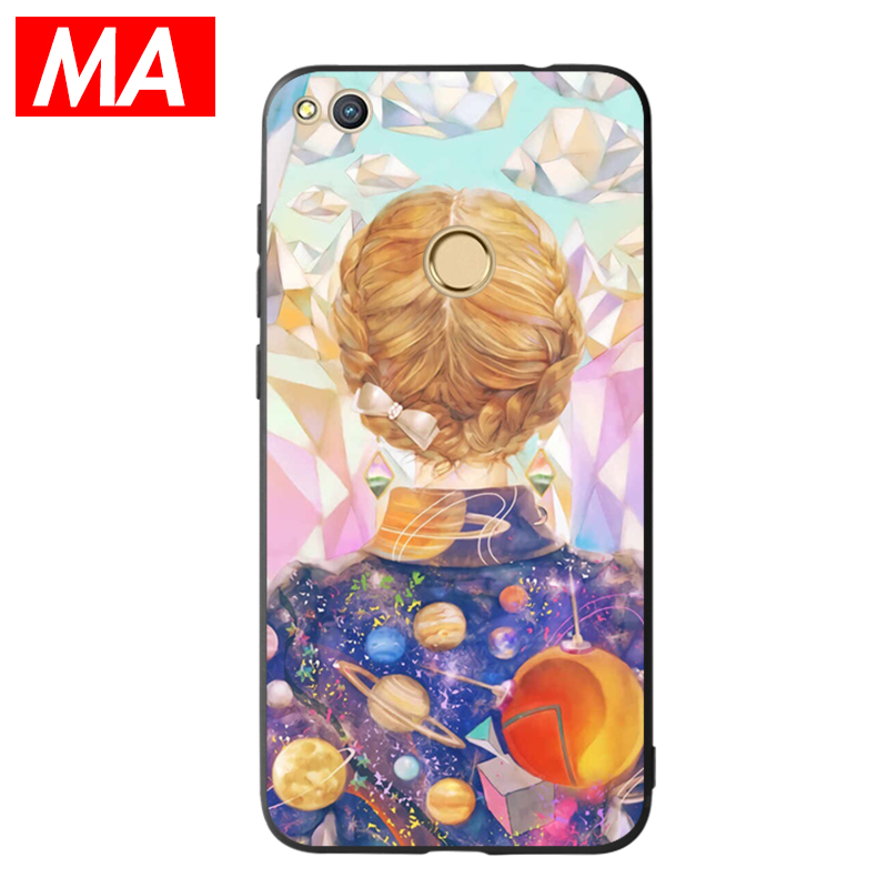 MA The Art Style Phone Case For Huawei P8 lite 2017 P9 P10 P20 Lite Plus Nova Honor 6C 6 ...