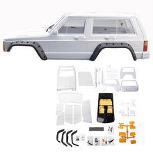 Hartplastik Radstand Cherokee Körper Auto Shell 1/10 RC Crawler Axial SCX10 & SCX10 II 90046 90047 Für TRX4 Kit