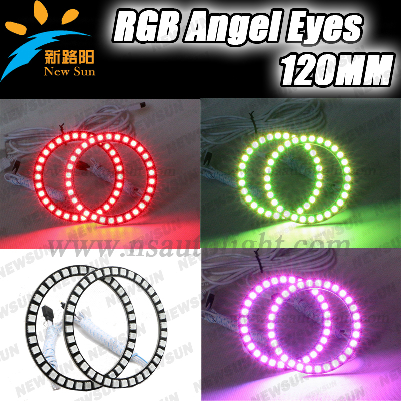 Low Price RGB Color Change Universal Ring Light 100mm*4pcs with remote control ds202 low price pocket oscilloscope with color display