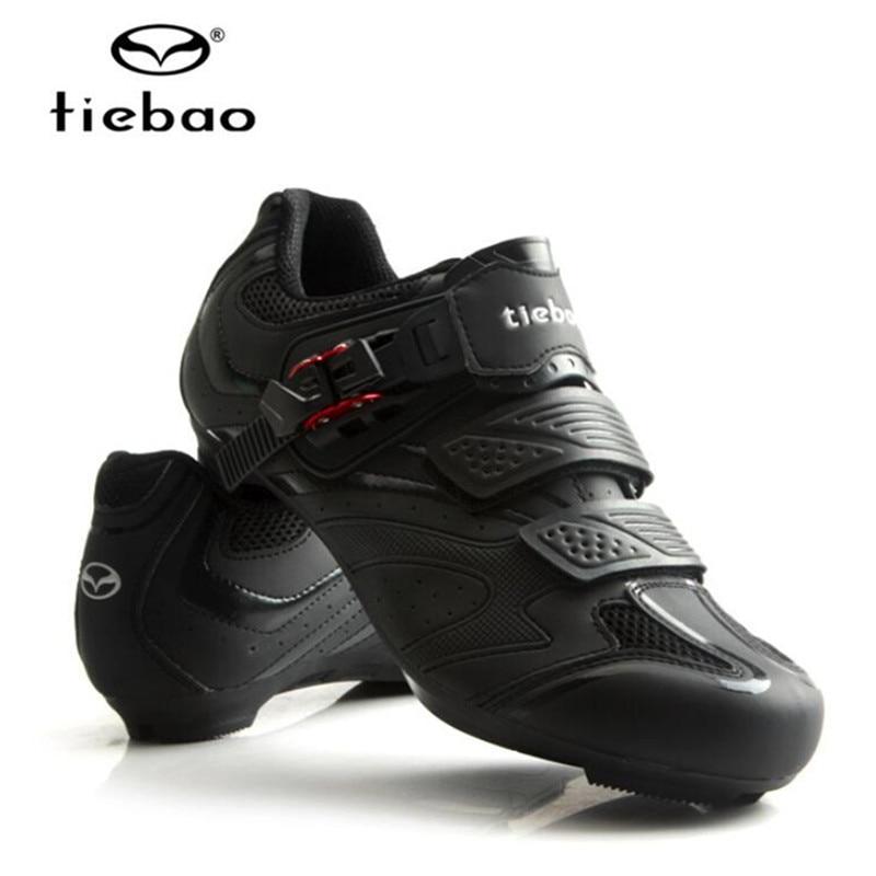 Tiebao Velosiped ayaqqabıları Road Bikes Auto-lock Ayaqqabıları - Velosiped sürün - Fotoqrafiya 4