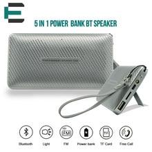 TG02 micro SD TF USB Hifi BT Speaker soundbar  with Led torching 3000mah power bank outdoor protable stereo bookshelf  speaker