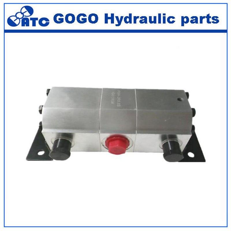 gear motor type hydraulic flow divider FMA 4R FMA 2R
