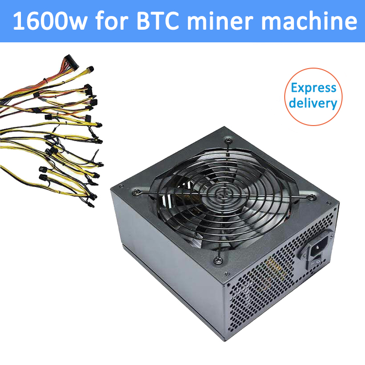 1600W miner machine power supply for BTC bitcoin server machine including multi 4Pin IDE 8pin 6+2Pin 24Pin SATA connectors g193f z700p 00 r805 700w 4pin server power supply