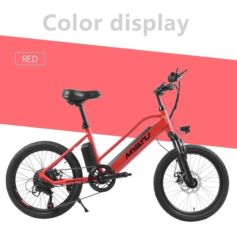 LOVELION adult Electric Bike 250W battery ebike Electric 20 quot road Electric bicycle e bike in Electric Bicycle from Sports amp Entertainment