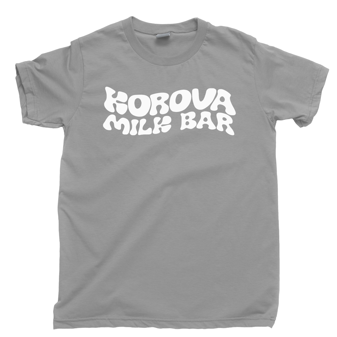ff2830b8 ... Korova Milk Bar T Shirt A Clockwork Orange Stanley Kubrick Moloko Plus  Droog Tee Cool Casual ...