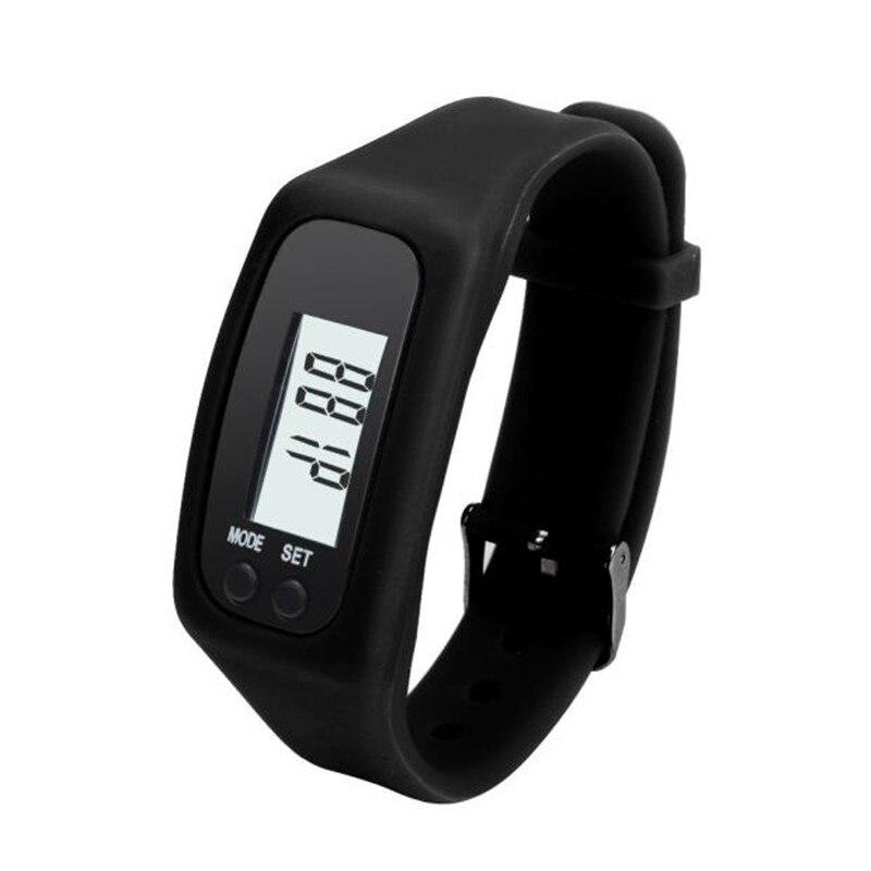 Digitale Rote Lcd Uhr Run Schritt Walking Distance Calorie Pedometer Silikon Kalorien Sport Armband Uhr Für Drishipping N0807 Sport & Unterhaltung Fitness & Bodybuilding