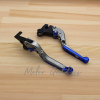 Motorcycle CNC Adjustable Foldable Clutch Brake Lever For HONDA FIREBLADELASER CBR1000RR 2004 2007 CB1000R 2008 2016 LASER LOGO