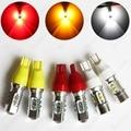 2 unids 921 T15 de Alta Potencia Cree Chip Xenon Blanco/Rojo/Amarillo 6000 K 600lm Car Led de Copia de seguridad Lente Del Proyector de Luz inversa Bombillas