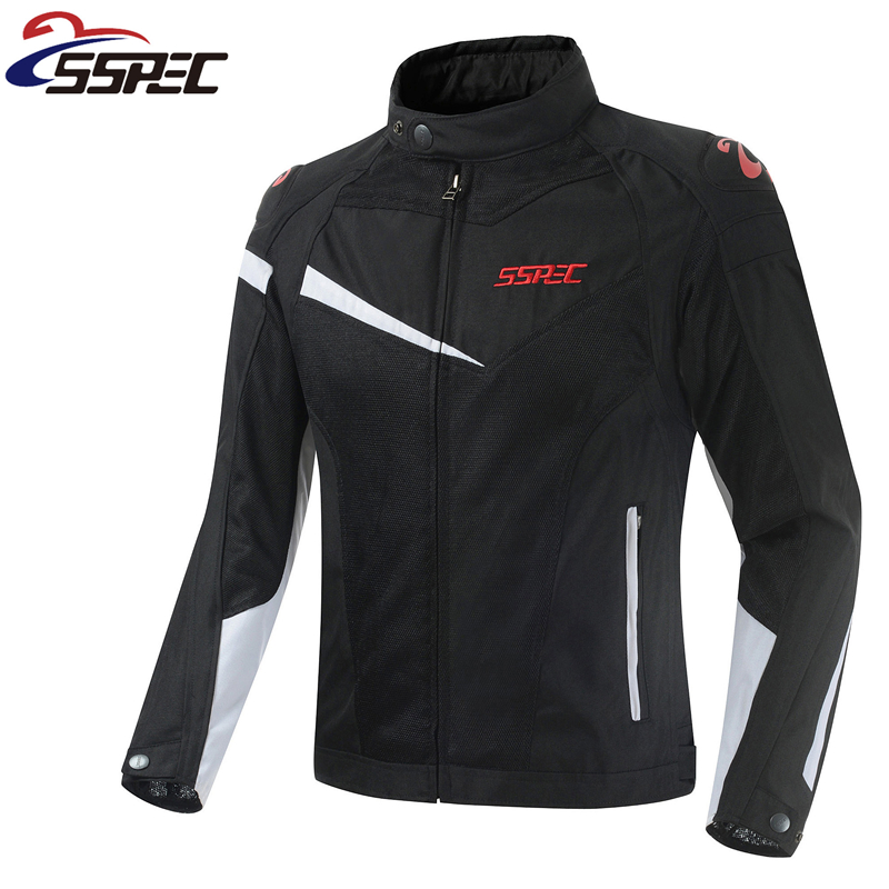 New Men motorcycle jacket summer mesh racing jackets Motorbike motocross bike bicycle Protective jacket with protectors didriksons didriksons 2905754