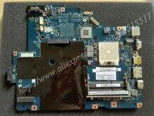 Envío libre Para Lenovo G565 Z565 Portátil placa madre LA-5754P Rev 1.0 Rev 2.0 placa (con puerto HDMI)