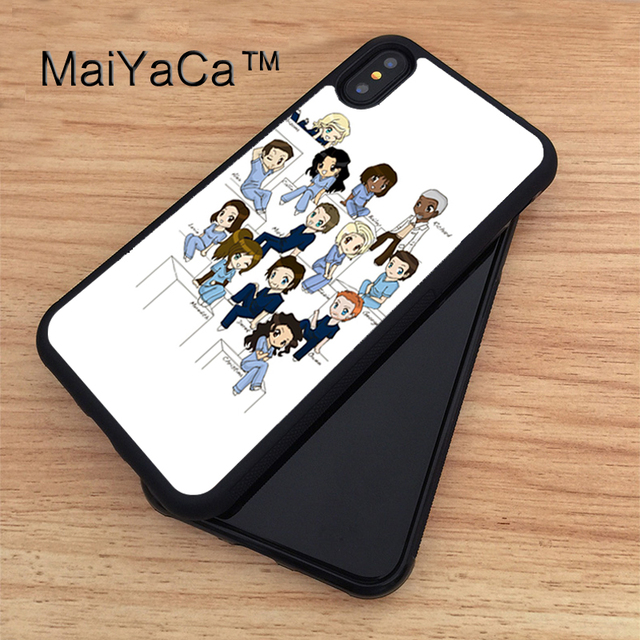 MaiYaCa greys anatomy Soft TPU New Phone Cases For Apple iphone X ...