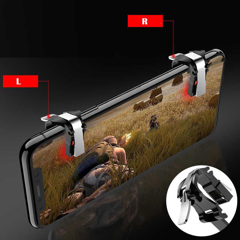 Контроллер стрельбы Pubg мобильный L1 r1 сотовый телефон игровой джойстик dzhostiki для смартфона триггер игра L1R1 iPhone кнопка Ios