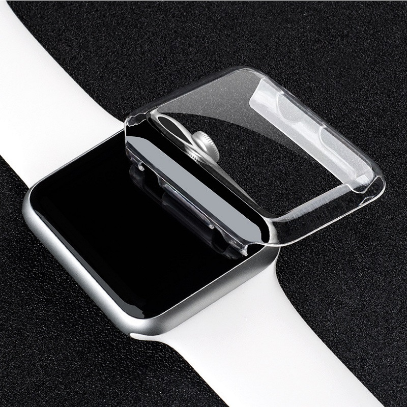 PC for IWatch Protective Cover Transparent for font b Apple b font font b Watch b