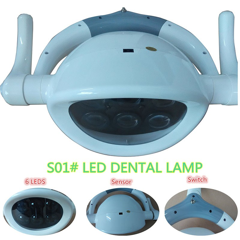 High Quality New Arrival dentistry Dental lamp LED lamp induction lamp Designed shadowless dental chair accessories ultrasonography in dentistry