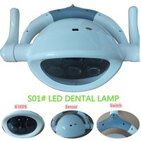 High Quality New Arrival dentistry Dental lamp LED lamp induction lamp Designed shadowless dental chair accessories