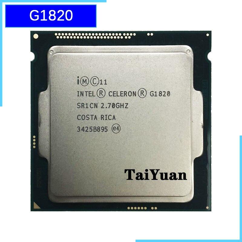 Двухъядерный процессор Intel Celeron G1820 2,7 GHz 2M 53W LGA 1150|Процессоры|   | АлиЭкспресс